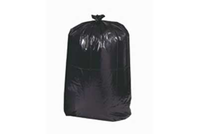 55 Galon 1.7 mil Trash bag Blk